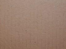 Cardboad ondulato Fotografie Stock Libere da Diritti