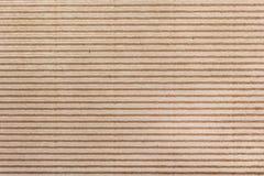 Cardboad ondulato Fotografia Stock Libera da Diritti