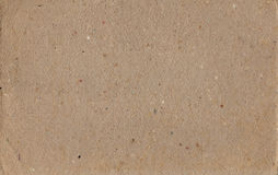 Cardboard. Texture of brown dense cardboard for a background Stock Image