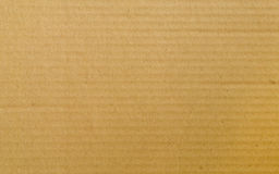 Cardboard. Natural cardboard paper with lines Royalty Free Stock Photos
