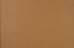 Cardboard. Blank piece of brown cardboard Royalty Free Stock Photo