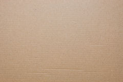 Cardboard as background Royalty Free Stock Photos