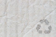Cardboard background Royalty Free Stock Image