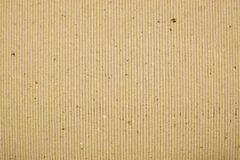 Cardboard background striped brown Royalty Free Stock Photography