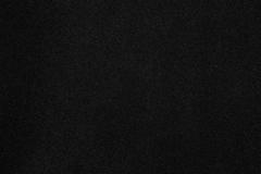 Cardboard with black velvety  coating Royalty Free Stock Photography