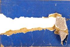 Cardboard book sheet torn Stock Photos