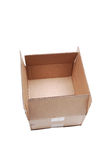 Cardboard box. Royalty Free Stock Photography