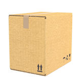 Cardboard Box. Stock Images