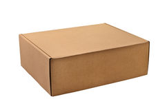 A cardboard box Royalty Free Stock Photography