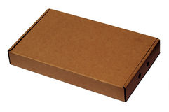 Cardboard Box. Brown Cardboard Box Royalty Free Stock Image