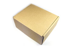 Cardboard Box Stock Photography