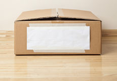 Cardboard box Royalty Free Stock Photo