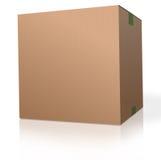 Cardboard box blank package royalty free stock photo