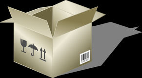 Cardboard Box, Cardboard, Box Royalty Free Stock Images