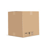 Cardboard box Royalty Free Stock Images