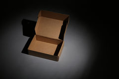 Cardboard Box For Freight Stock Images