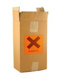 Cardboard box with harmful content #2 Stock Image
