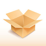 Cardboard box icon. Stock Images