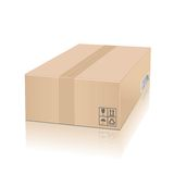 Cardboard box Stock Images