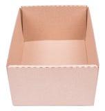 Cardboard box isolated Stock Photos