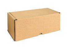 Cardboard box. Stock Photos