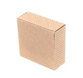 Cardboard box. Royalty Free Stock Images