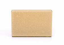Cardboard box . Royalty Free Stock Photography