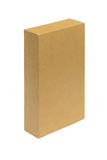 Cardboard box. Isolated on white background Royalty Free Stock Images