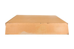 Cardboard box isolated on white background Royalty Free Stock Photos