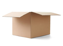 Cardboard box package moving transportation delivery Royalty Free Stock Images