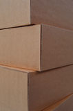 Cardboard box stack Royalty Free Stock Photo