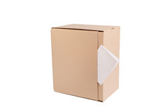 Cardboard box Royalty Free Stock Photography