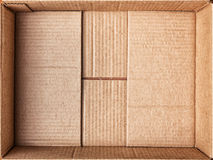 Cardboard box for things. Royalty Free Stock Photos