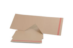 Cardboard box unfolded Royalty Free Stock Photo