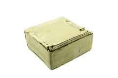 Cardboard box used Royalty Free Stock Image