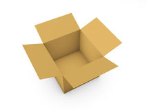 Cardboard boxe Royalty Free Stock Photography
