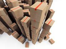 Cardboard boxes Stock Photos