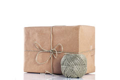 Cardboard Brown Parcel Stock Photography