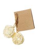 Cardboard card Stock Photography