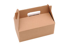Cardboard Carry-Out Box Royalty Free Stock Photo