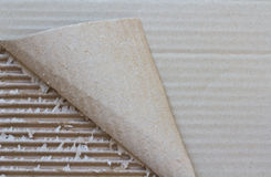 Cardboard carton Stock Image