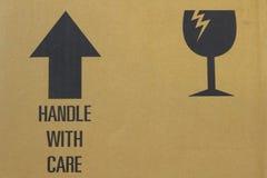 Cardboard carton Stock Photography