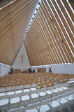 Cardboard Cathedral Stock Images