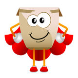 Cardboard character vector 2 Stock Images