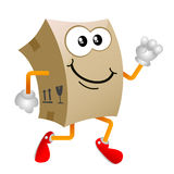 Cardboard character vector 3 Stock Image