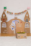 Cardboard Children's Palace Royalty Free Stock Image