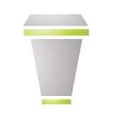 Cardboard Coffee Cup Stock Image