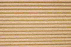 Cardboard corrugated pattern Stock Photo