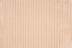 Cardboard corrugated pattern Royalty Free Stock Photography