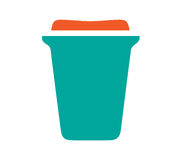 Cardboard Cup Icon Royalty Free Stock Image